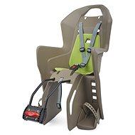Polisport Koolah hnědo-zelená - Dětská sedačka na kolo