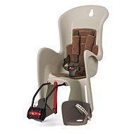 Polisport Bilby krémovo-hnedá - Detská sedačka na bicykel