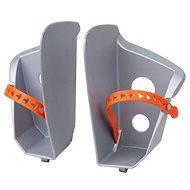 Náhradní stupačky sedačky Polisport Bilby, stříbrná - Příslušenství