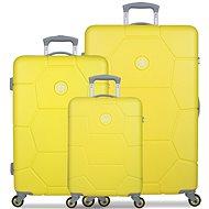 Suit Set TR-1242/3 ABS Caretta Blazing Yellow - Travel suitcase