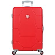 Suitsuit TR-1243/3-M ABS Caretta Fiery Red - Cestovní kufr