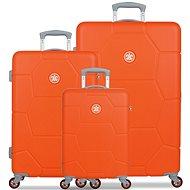 Sada Suitsuit TR-1245/3 ABS Caretta Popsicle Orange