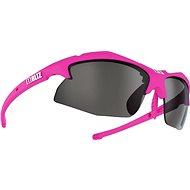Bliz Rapid Neon Pink Smoke w Silver Mirror + Pink - Brýle