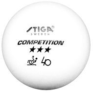 Stiga Competition, white, 3 pcs - Balls