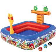 Nafukovacie hracie centrum Angry birds s bazénom 147 x 147 x 91 cm - Nafukovacia atrakcia