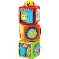 Buddy toys Three Animal Cubes - Baby Toy