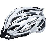 R2 Arrow bílá, černá matná S - cyklistická helma
