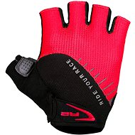 R2 Vouk black, red S - Gloves