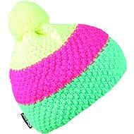 SHERPA GEMMA Yellow/pink/green - Čepice