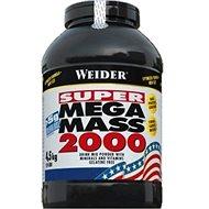 Weider Mega Mass 2000 jahoda 4,5kg - Gainer