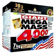 Weider Mega Mass 4000 vanilka 7kg - Gainer