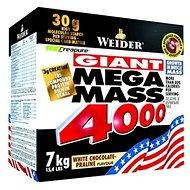 Weider Mega Mass 4000 bílá čoko-pralinka 7kg - Gainer