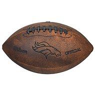 Wilson Nfl Jr Throwback Team Logo Fb Dn - Míč na americký fotbal