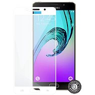 Screenshield SAMSUNG A510 Galaxy A5 (2016) Tempered Glass protection (full COVER WHITE metalic frame - Ochranné sklo