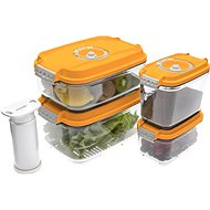 STATUS 5-teiliges Set Beutel Boxen orange - Set