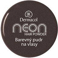 Dermacol Neon Hair Powder No.8 - Black with glitters 2,2 g