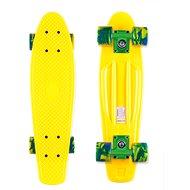 Street Surfing Beach Board Summer Sun, yellow - Plastic skateboard
