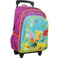 Junior backpack on wheels - Disney Fairy Zvonilka