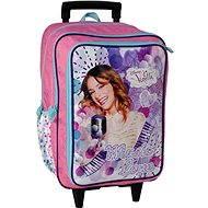 School bag on wheels - Disney Violetta