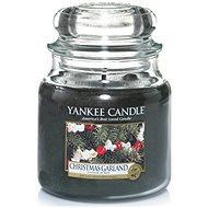 YANKEE CANDLE Classic střední 411 g Christmas garland - Svíčka