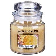 YANKEE CANDLE Classic střední 411 g Star Anise & Orange - Svíčka