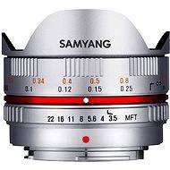 Samyang 7.5mm F3.5 MFT (Silver) - Objektiv