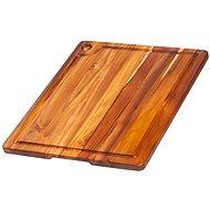 TEAK HAUS 517 Küche Schneidebrett rechteckig 46x35.5x2cm - Brettchen