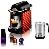 Krups Nespresso Pixie Electric Red + XN3006 Krups XL2000