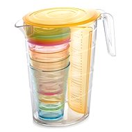 Tescoma Drum myDRINK 2.5l, 4 cups with lid-Or - Pitcher
