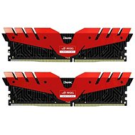 T-FORCE 16GB KIT DDR4 3000MHz CL16 Dark ROG red series