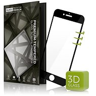 Tempered Glass Protector 3D pre iPhone 7 čierne