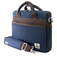 Glanz Tucano Schlanke Tasche Blau - Notebooktasche