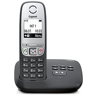 GIGASET A415A Black + answering machine