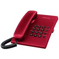 Panasonic KX-TS500FXR Red - Haustelefon