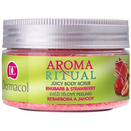 Dermacol Aroma Ritual Body Scrub Rhubarb and Strawberry 200 g