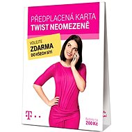 "TWIST SIM karta ""Neomezeně"" 200 Kč kredit"