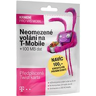 Neomezené volání na T-Mobile a 100 MB dat - SIM karta
