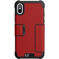 UAG Metropolis Case Magma Red iPhone X - Ochranný kryt