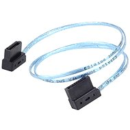 SilverStone CP11 SATA III 90° 300mm - Datový kabel