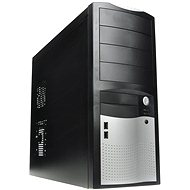 EUROCASE MiddleTower 5410 Black-silver 350W Fortron