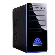 Eurocase ML 5485 black blue - Počítačová skříň