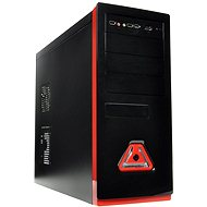 Eurocase ML 5485 black red - 400W