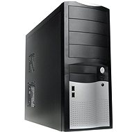 EUROCASE MiddleTower 5410 Black-silver 400W Fortron