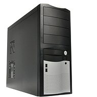 EUROCASE MiddleTower 5410 Black-silver 450W