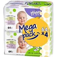HAPPY Baby hodváb a bavlna (4x64 ks)