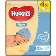 HUGGIES Pure Quatro Pack (4x 56 ks)
