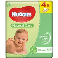 HUGGIES Natural Care Quatro Pack (4x56 ks)
