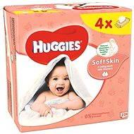 HUGGIES Soft Skin Quatro Pack (4x 56 ks)