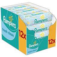 Pampers Wipes Fresh Clean (12 x 64 ks)