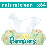 Pampers Natural Clean (64 ks)